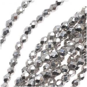 Разделитель для бусин, цв. серебро, 4х3,5 мм (50 шт)...