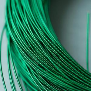 Канитель, жесткая, темно-зеленый...