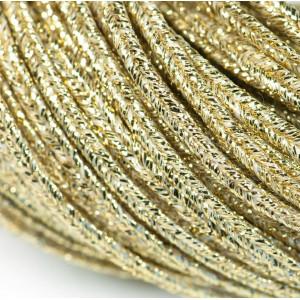 Сутаж, золото, 2х1 мм (5 м)...