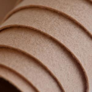 Корейский жесткий фетр цв.814, темно-песочный, толщина ...