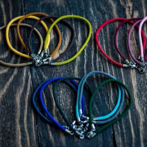 Заготовка для браслета из витого шнура, разные цвета, 2...