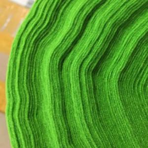 Корейский мягкий Фетр RN-10 желто-зеленый, 1 мм, погонн...