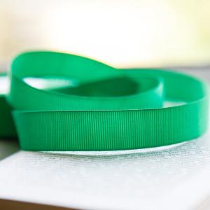 Репсовая лента, зеленый, ширина 20 мм...