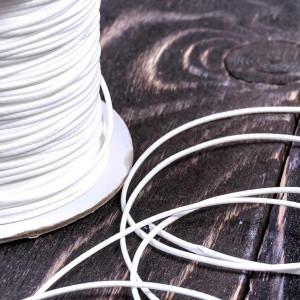 Шнур вощеный синт., белый, 1 мм...