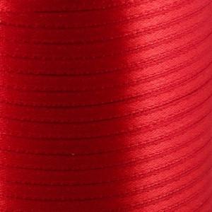 Атласная лента, красный, ширина 3 мм...
