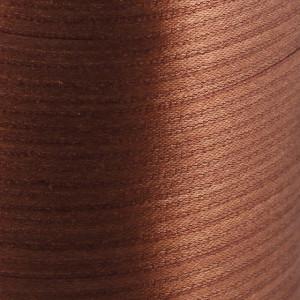 Атласная лента, коричневый, ширина 3 мм...