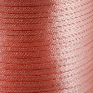 Атласная лента, оранжево-розовый, ширина 3 мм...