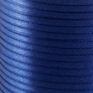 Атласная лента, синий, ширина 3 мм...