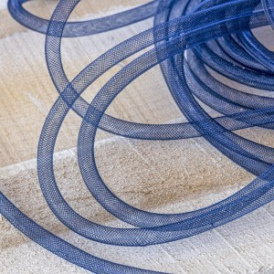 Ювелирная сетка, темный синий, 8 мм...