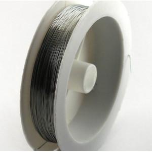 Проволока медная, цвет серебряный, d 0.6 мм, 6 м...