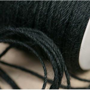 Конопляный шнур, черный, 2 мм (5 м)...