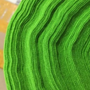 Корейский мягкий Фетр RN-10 желто-зеленый, 1 мм, 33х110...
