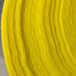 Корейский мягкий Фетр RN-12 желтый, 1 мм, погонный метр...