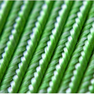 Сутаж, зеленый, 3х1 мм (5 м)...