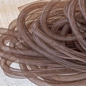 Ювелирная сетка, коричневый, 8 мм...