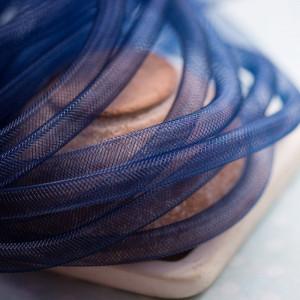 Ювелирная сетка, темно-синий, 10 мм...