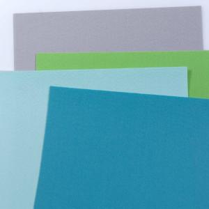 Набор фетра 4 больших листа: сине-голубые оттенки, серы...