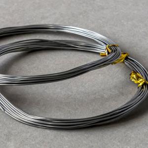 Проволока алюминиевая, цвет никель, 1 мм, 5 м...