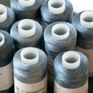 Нитки для бисера, капрон 50К, цвет №05 серый...