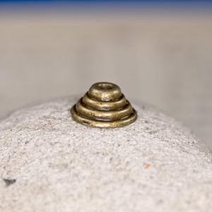 Чашечка (шапочка) для бусин, бронза, 10х5 мм...