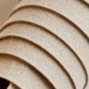 Корейский жесткий фетр цв.940, бежевый, толщина 1.2 мм,...