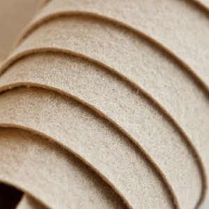 Корейский жесткий фетр цв.940, бежевый, толщина 1,2 мм,...