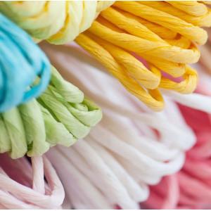 Шнур из бумаги, разные цвета, 3 мм...