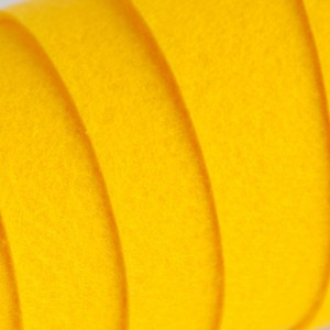 Корейский жесткий фетр цв.821, желтый, толщина 1.2 мм, ...