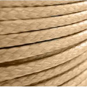 Шнур вощеный синт., абрикосовый, 3 мм...