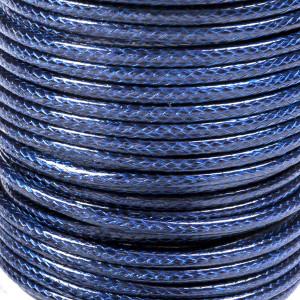 Шнур вощеный синт., синий, 3 мм...