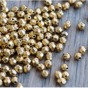 Разделитель для бусин, античное золото, 4х3.5 мм (50 шт...