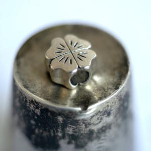 Бусина-тоннель металлическая, античное серебро, 10х10х6...