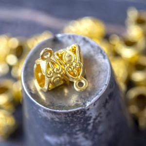 Бейл, цв. золото, 13,5х8х8,5 мм...