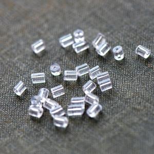 Фиксаторы (застежки) для сережек, 3х3 мм...