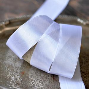 Лента, атлас, цвет белый, ширина 25 мм...