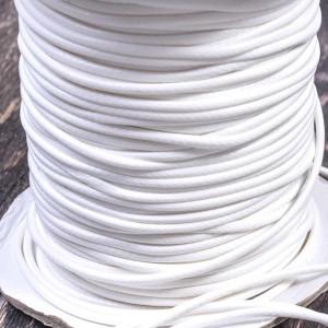 Шнур вощеный синт., белый, 2 мм...