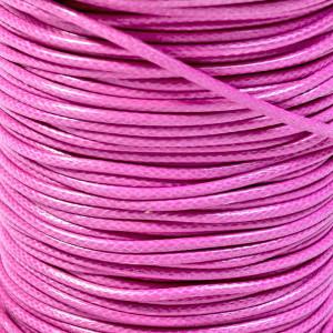 Шнур вощеный синт., темно-розовый, 2 мм...