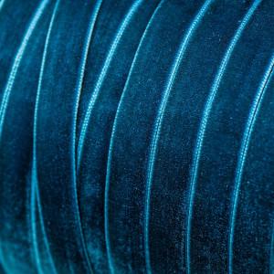 Бархатная лента, цвет морской волны, ширина 12,7 мм...