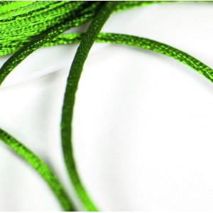 Атласный шнур для кумихимо, салатовый, 1 мм (4 м)...