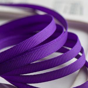Репсовая лента, фиолетовый, ширина 6 мм...