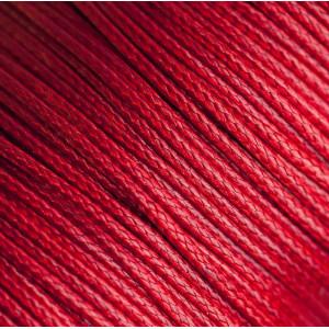 Шнур вощеный синт., красный, 1,5 мм...