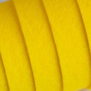 Корейский жесткий фетр цв.820, ярко-желтый, толщина 1,2...
