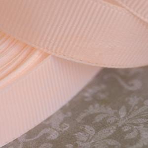 Репсовая лента, светлый персиковый, ширина 20 мм...