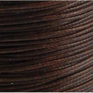 Шнур вощеный синт., темно-коричневый, 0,5 мм...