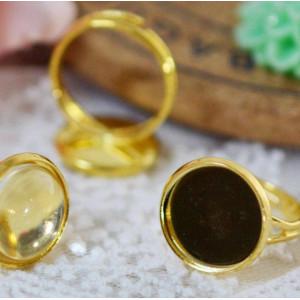 Заготовка для кольца, золото, 17 мм...