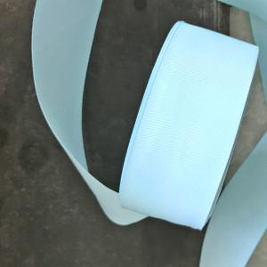 Репсовая лента, мятно-голубой, ширина 38 мм...