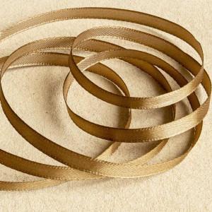 Атласная лента, светло-коричневый, ширина 10 мм...