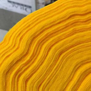 Корейский мягкий Фетр RN-17 темно-желтый, 1 мм, погонны...