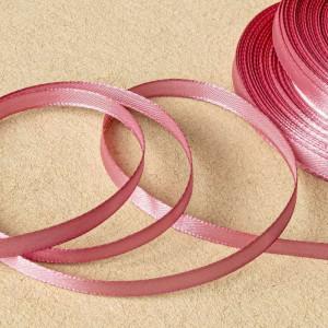 Атласная лента, розовый, ширина 6 мм...