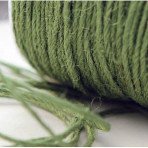 Конопляный шнур, желто-зеленый, 2 мм (5 м)...